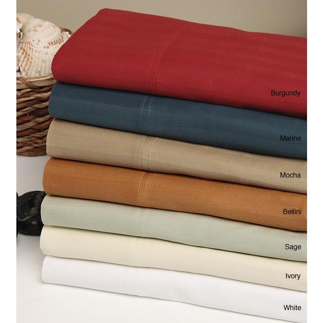Tuxedo 300 Thread Count Woven Stripe 4-piece Sheet Set
