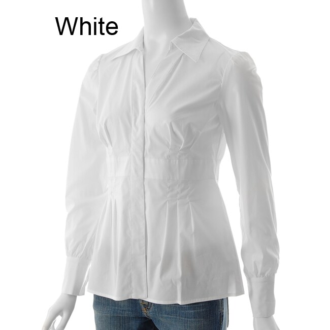Focus 2000 Women's Long-sleeve Stretch Blouse