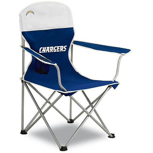 San Diego Chargers Chair: San Diego Chargers Folding Arm Chair