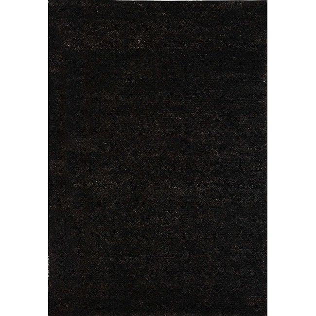 Safavieh Hand-knotted Vegetable Dye Solo Liquorice Hemp Rug (2' x 3')
