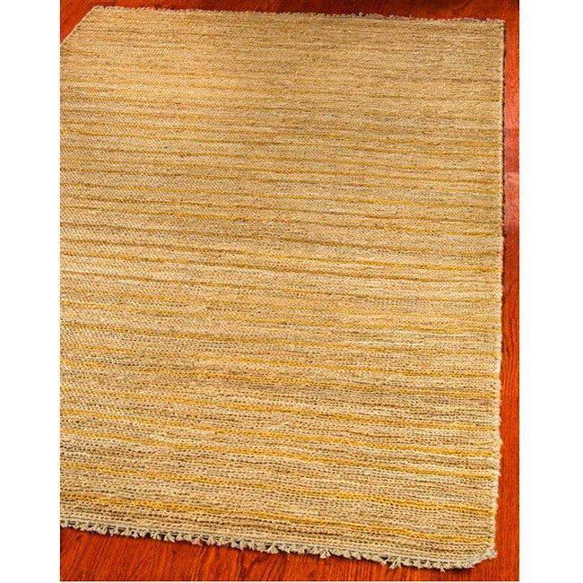 Safavieh Hand-knotted All-Natural Sunrise Beige Hemp Rug (6' x 9')
