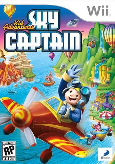 Wii - Kid Adventures:Sky Captain