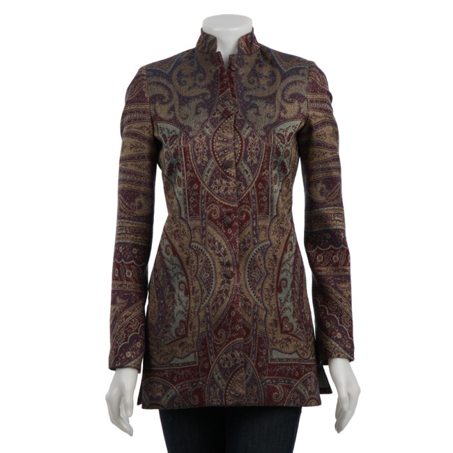 Women's Plum Maharani Long Sleeve Silk Jacket (India)
