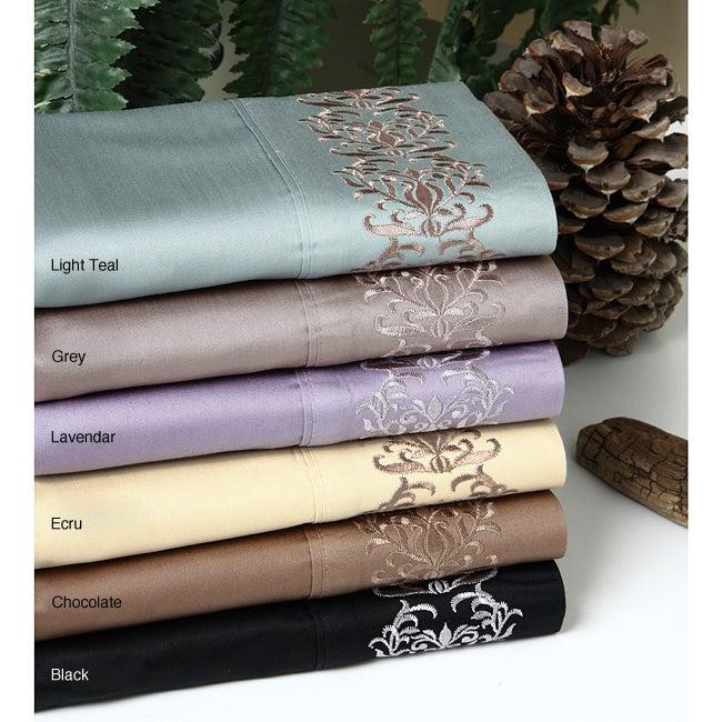 Egyptian Cotton Sateen 450 Thread Count Sheet Set