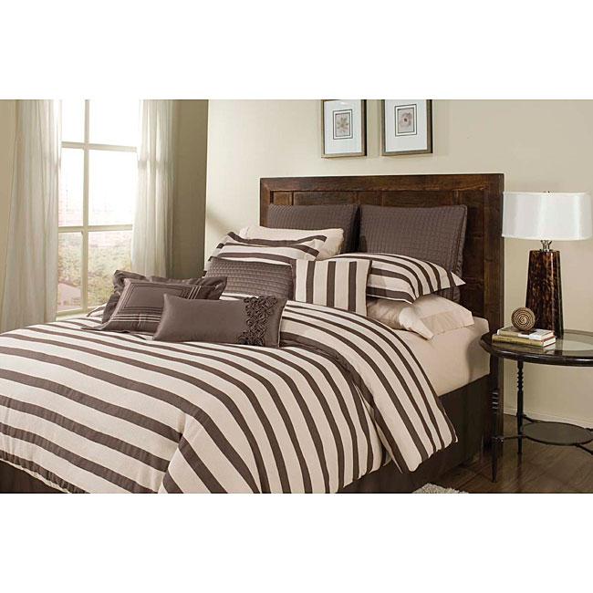 Olivia Chocolate 5-piece Comforter Set