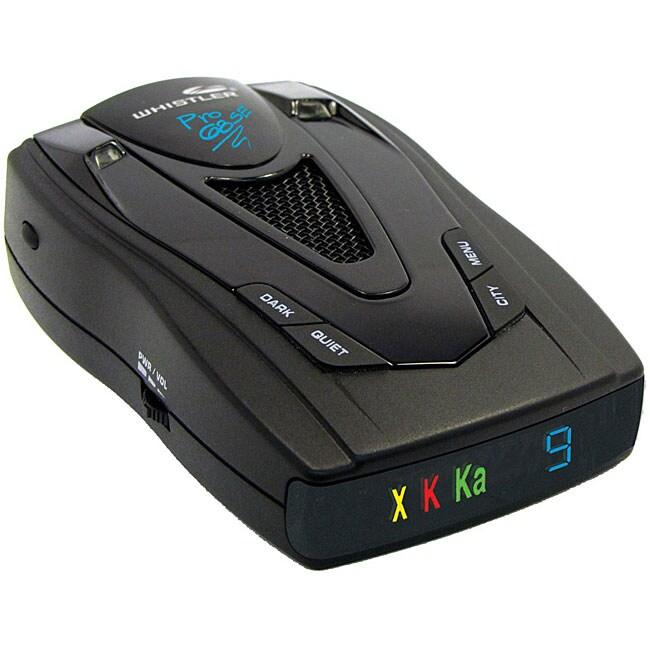 Whistler PRO-68SE Professional Laser/ Radar Detector