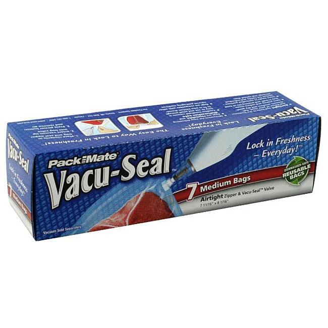 Pack-mate Vacu-seal Reusable Bags