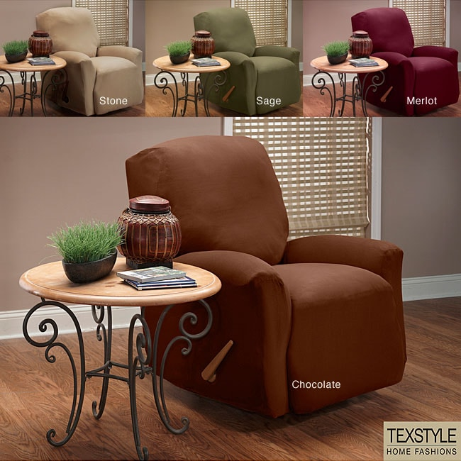 TexStyle Stretch Microsuede Recliner Slipcover