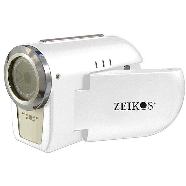 Zeikos White Digital Video Camera