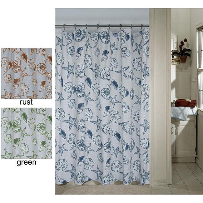 Sand Shells Shower Curtain