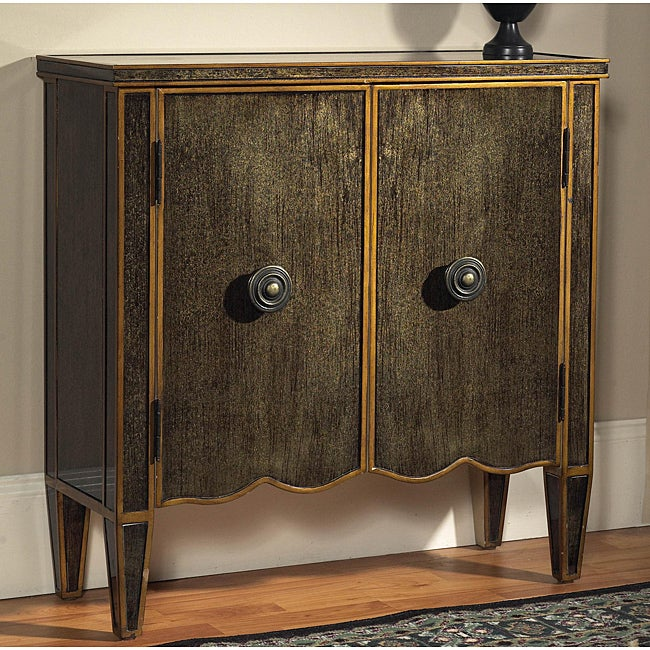 Hand-painted Gold Accent Chest