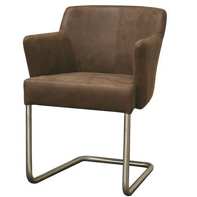 Superieur Whalen Brown Contemporary Arm Chair