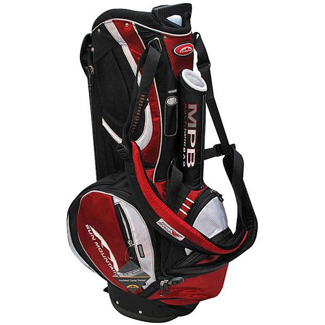 Sun Mountain Men S Mpb Black Red Crossover Bag Free