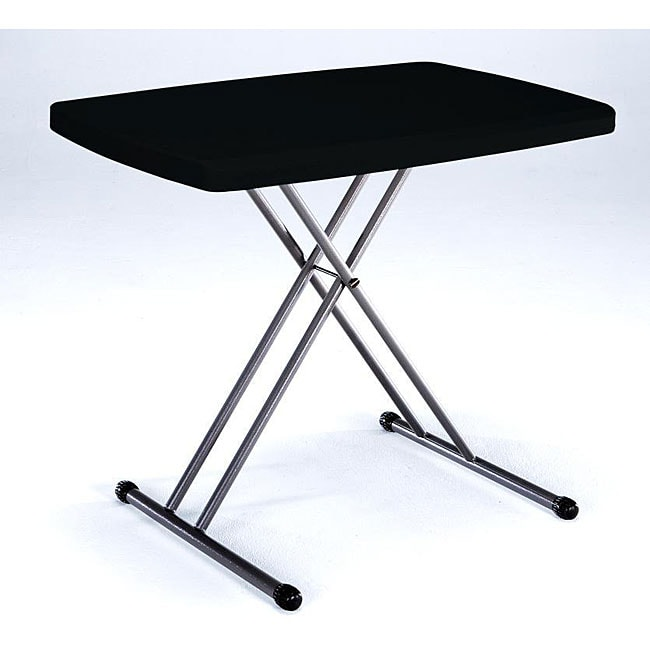 Lifetime Black Personal Folding Table Free Shipping On
