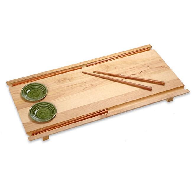J.K. Adams Tabeyo Large Wood Sushi Board