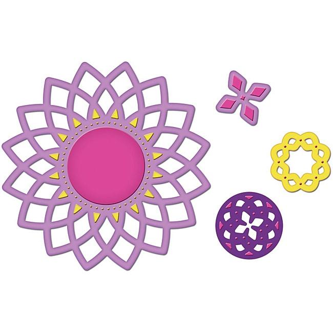 Spellbinders Shapeabilities 'Lotus' Pendant Dies (Set of 4)