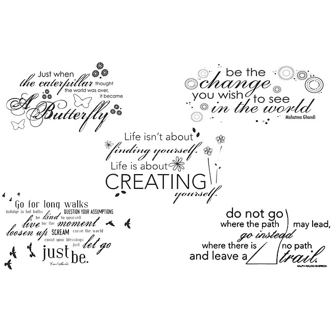 Unity Stamp \u002639;Quote Bundle\u002639; Unmounted Red Rubber Stamps