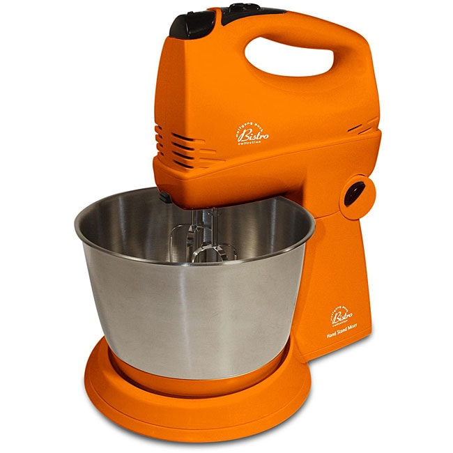 Shop Wolfgang Puck Orange Hand Stand Mixer With Wp