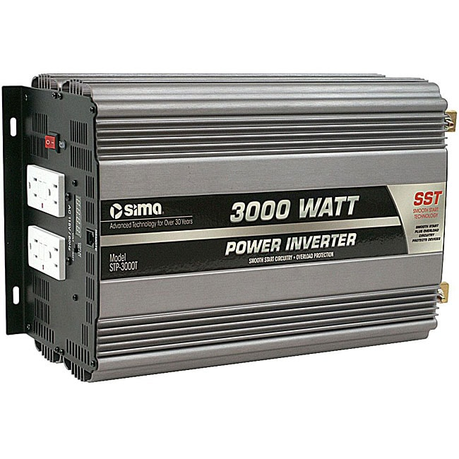 Sima 3000 Watt Titanium Plus Series Power Inverter Free