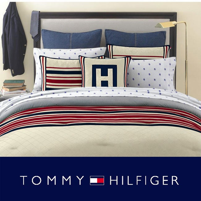 bc957caec Shop Tommy Hilfiger Rugby 3-piece Comforter Set - Free Shipping Today -  Overstock - 4728423