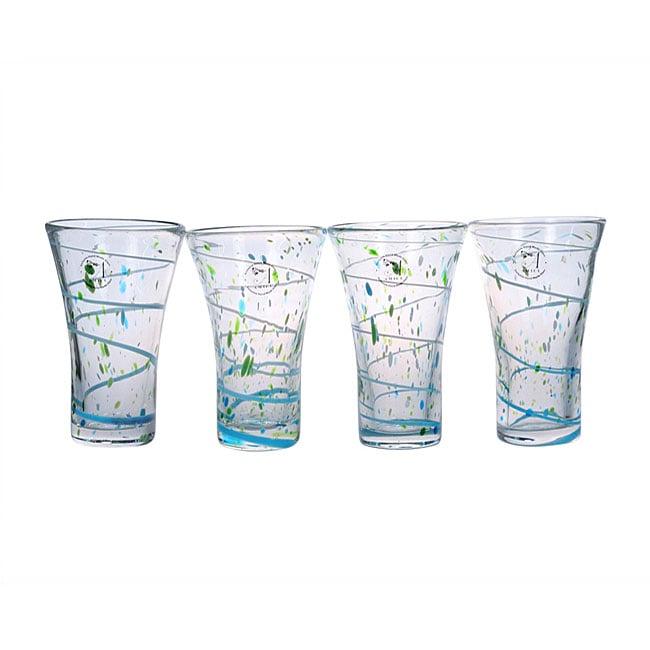 Global Amici St. Tropez Highball Glasses (Set of 4)