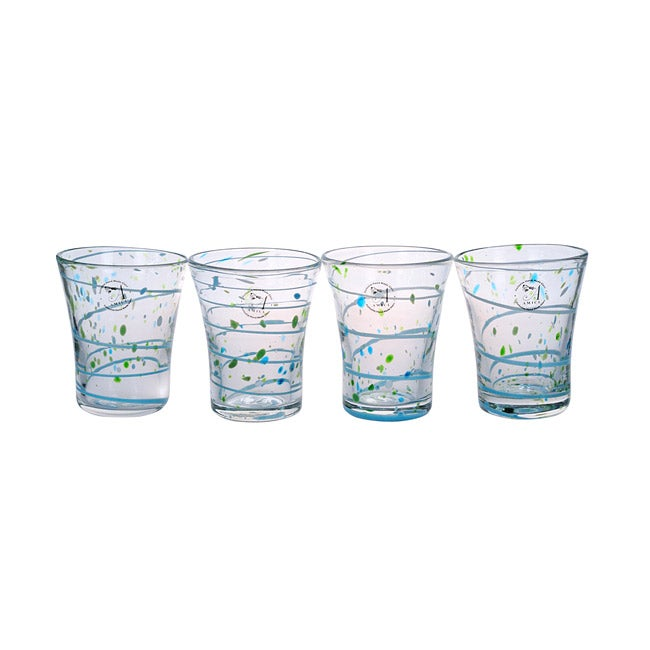 Amici St. Tropez Double Old Fashioned Glasses (Set of 4)