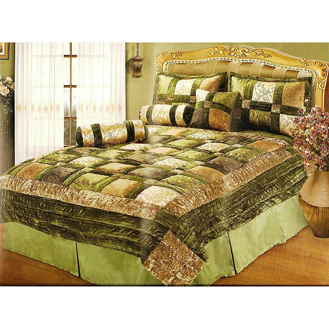 Royalton Green 6-piece Comforter Set