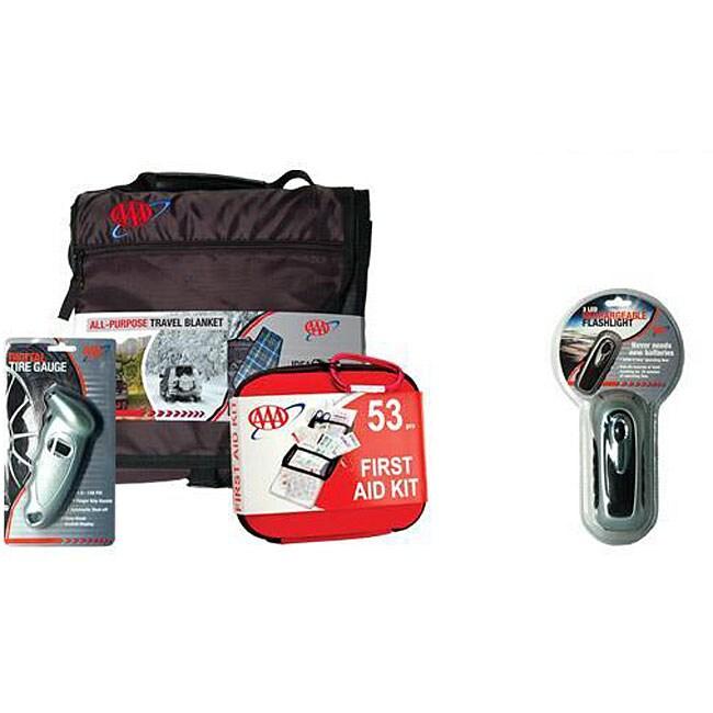 Lifeline First Aid AAA Automotive Safety Bundle