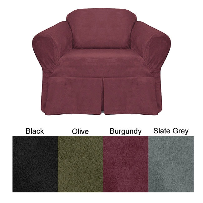 Ultra Suede Chair Slipcover