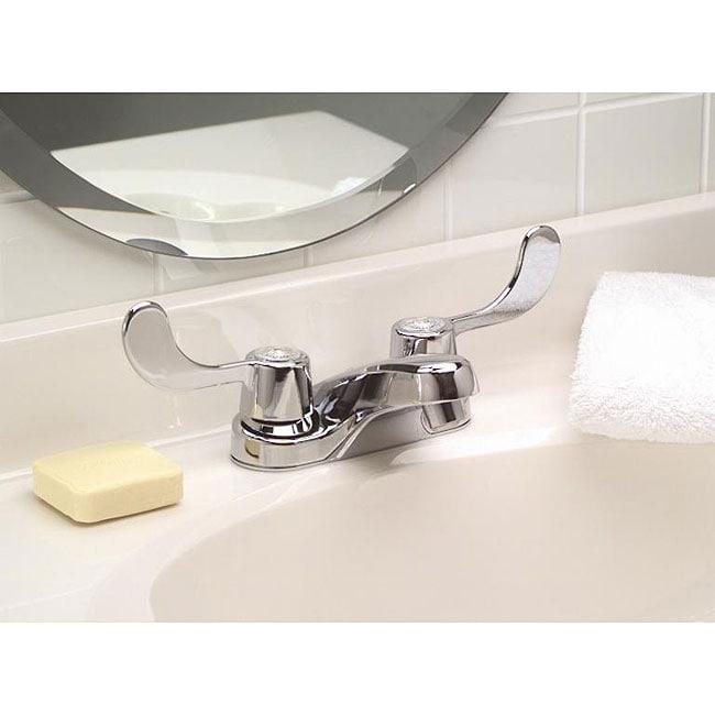 DeNovo Premier ADA Paddle Handle Centerset Chrome Faucet