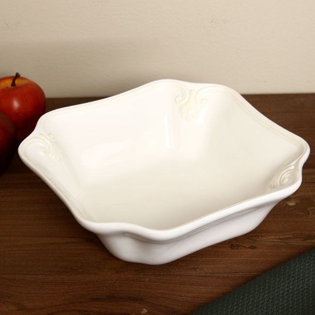 Lenox Butler's Pantry Square Small Serving Bowl