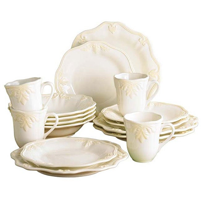 Lenox 'Butler's Pantry' 16-piece Dinnerware Set