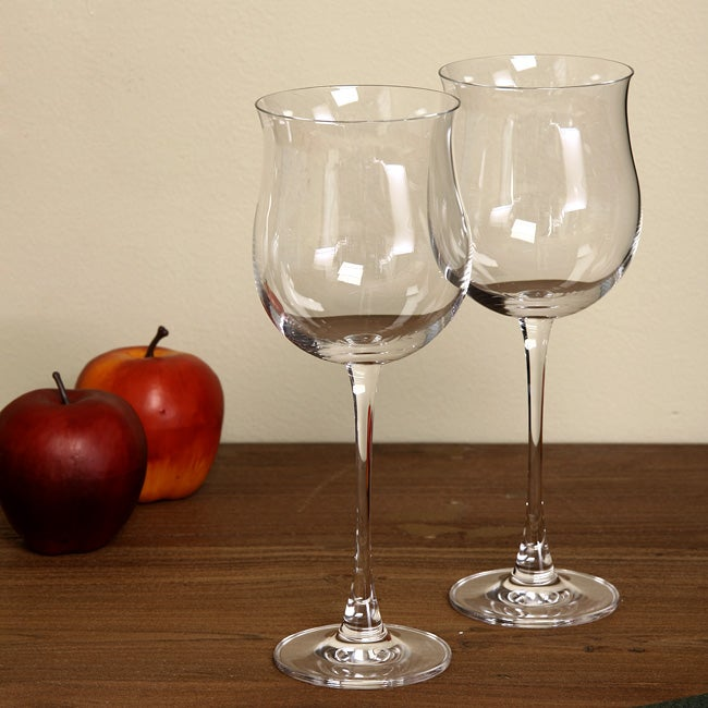 Lenox tuscany classics rose wine glasses set of 4 free shipping on orders over 45 - Lenox stemless red wine glasses ...