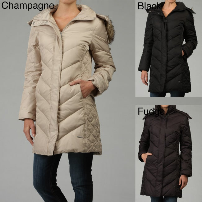 Kenneth Cole Reaction Women S Hooded Coat Free Shipping