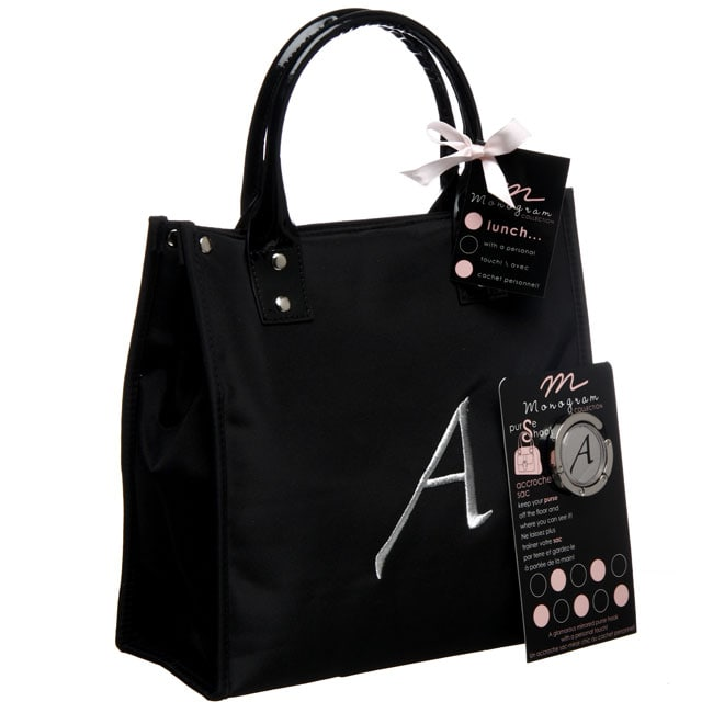 Danielle Monogrammed A Insulated Lunch Tote And Purse
