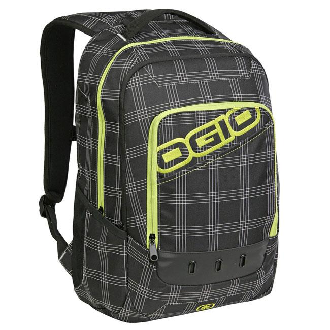 Shop Ogio Drifter Black Plaid Utility Laptop Cooler