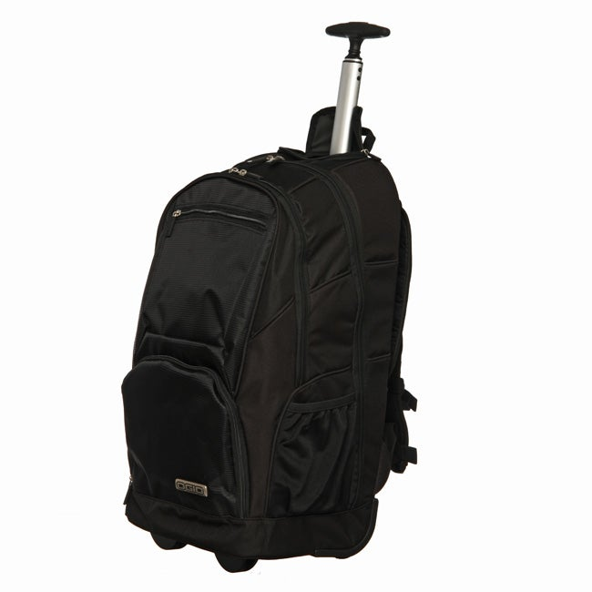 Ogio Commuter Black Utility Rolling Laptop Backpack - Free ...