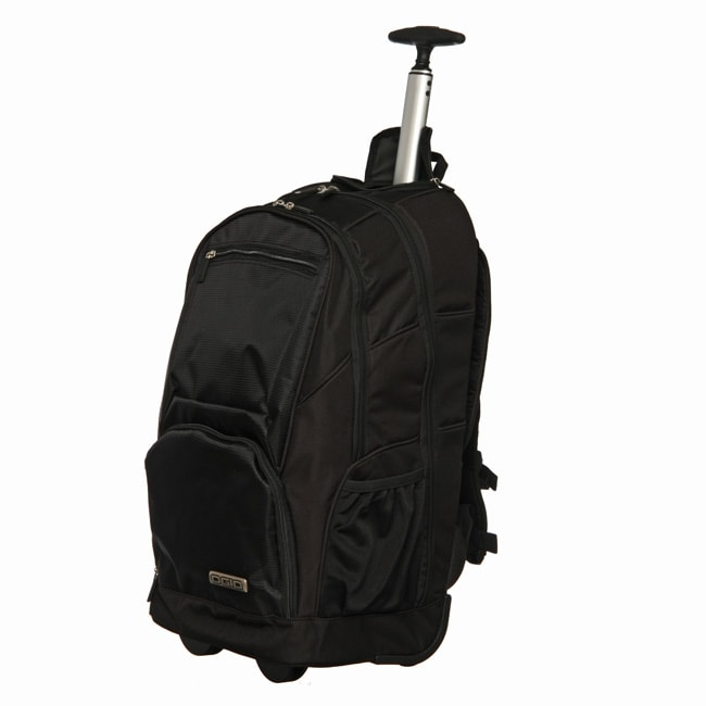 Ogio Commuter Black Utility Rolling Laptop Backpack - Free ...