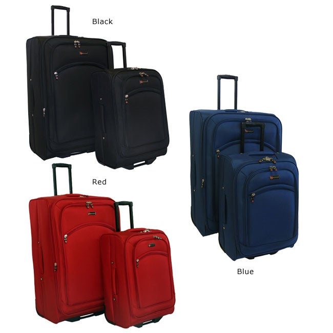 American Flyer Austin Collection 2-piece Luggage Set - Thumbnail 0