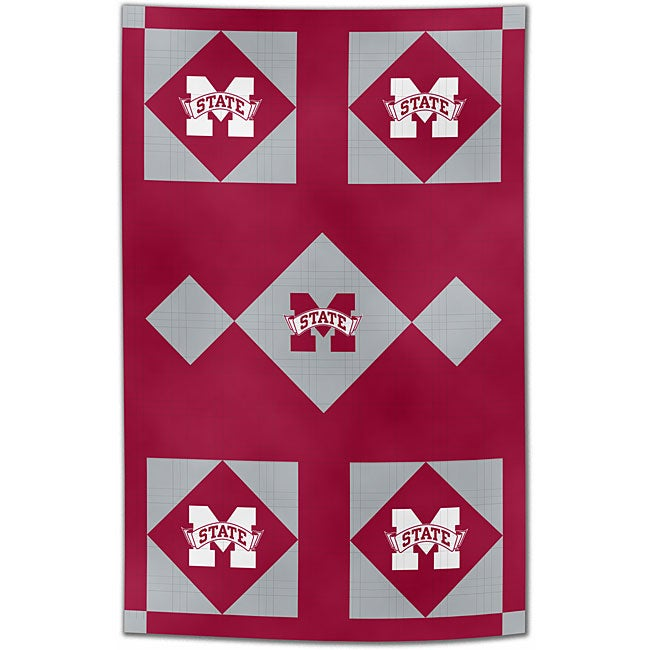NCAA Mississippi State Patchwork Quilt