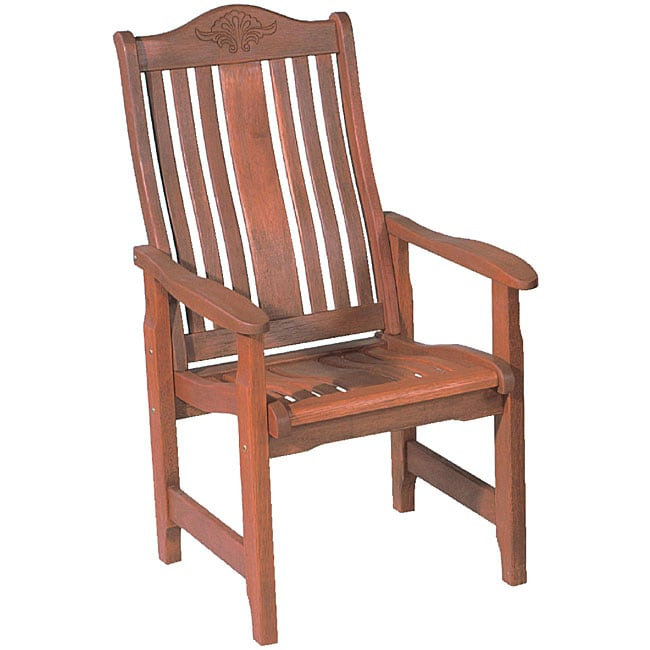 Malacca Outdoor High-back Arm Chair