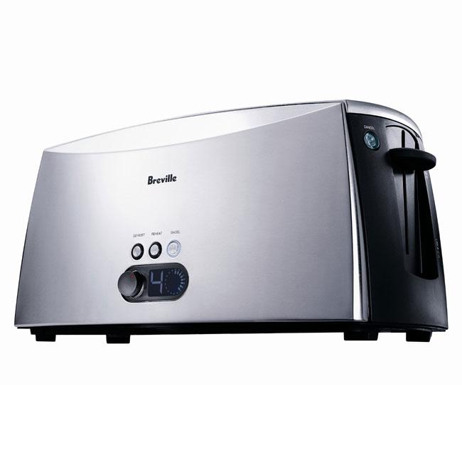 Shop Breville Ct75xl Rf Ikon 4 Slice Toaster Refurbished