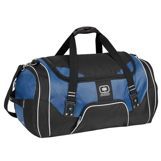 Shop Ogio Rage Royal Blue Duffel Bag Free Shipping On