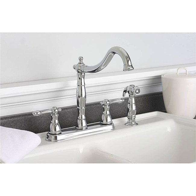 DeNovo Premier Two-handle Chrome Kitchen Faucet