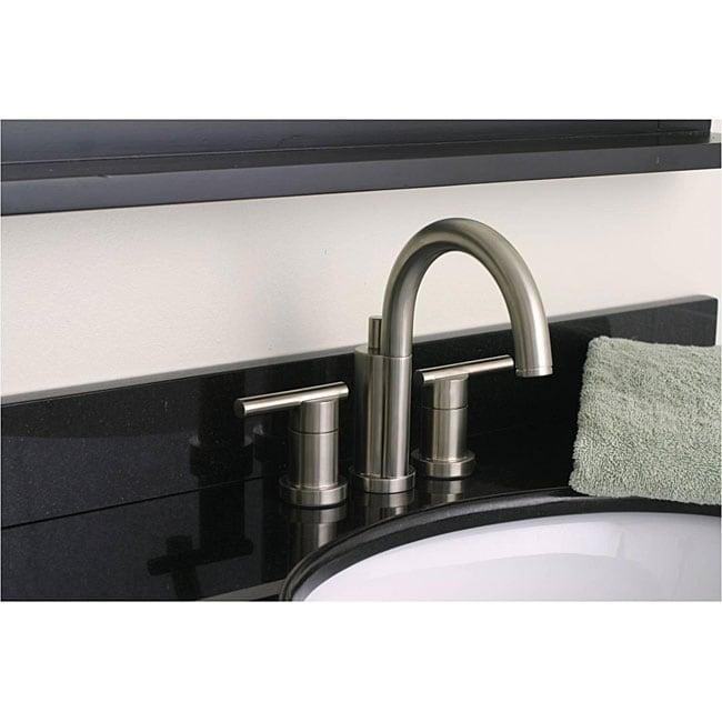 Shop DeNovo Premier Brushed Nickel Finish Bathroom Faucet - Free ...