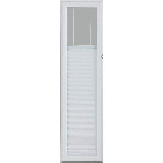 ODL White 36-inch Enclosed Door Side Lights Cellular Shade