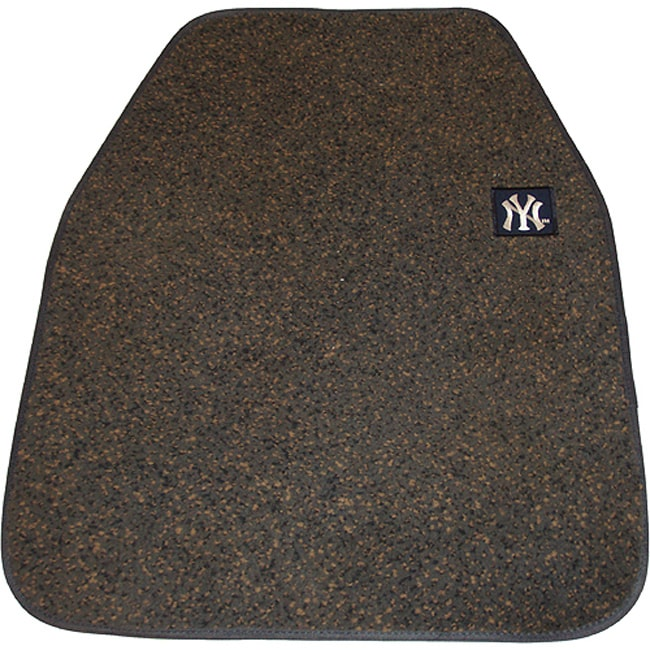 Yankee Stadium Authentic Clubhouse Embroidered Car Floor Mats (Set of 2)