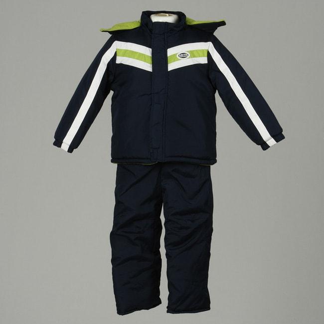 0d515a93b880 Shop iXtreme Boy s Navy Arctic Explorer 2-piece Snowsuit - Free ...