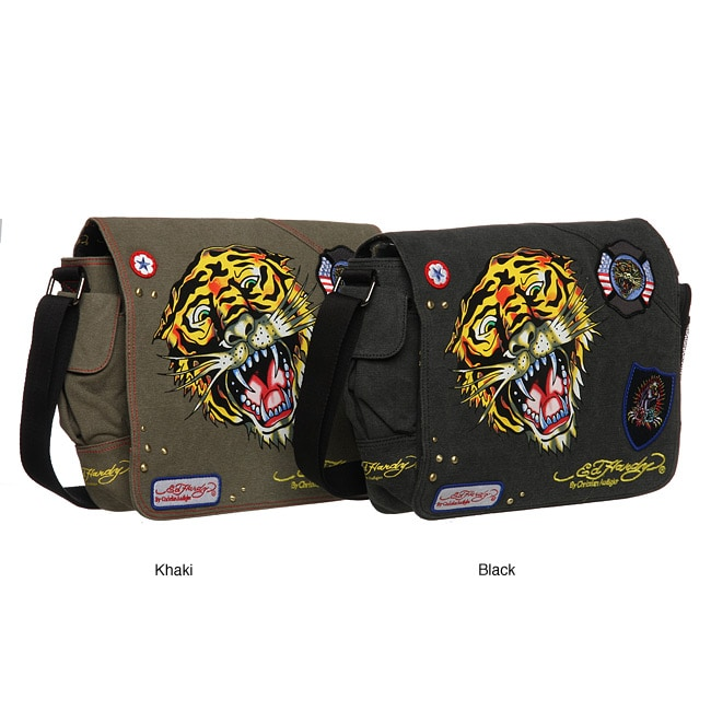 Shop Ed Hardy  Lee  Tiger Messenger Bag - Free Shipping Today -  Overstock.com - 4762301 243015a94d