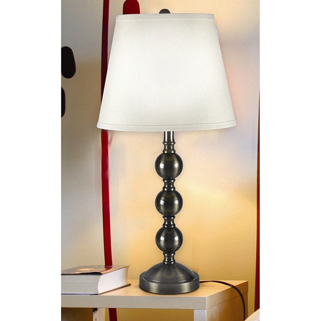 Hitch Antique Gold Finish Table Lamp